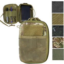 Kombat MOLLE pocket Buddy Pouch Zipped Modular Olive BTP Black Coyote