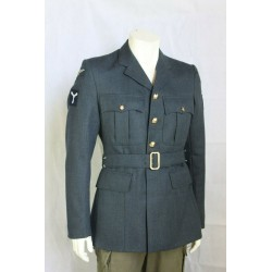 Genuine British RAF Dress Jacket With Belt Uniform Formal Smart Tunic All Sizes