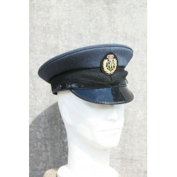 Genuine Surplus British RAF Mens Dress Hat Peak Cap Formal Blue Grade 1