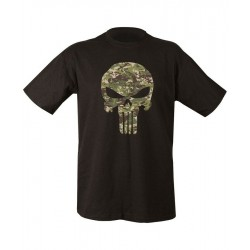 Kombat BTP Punisher T-Shirt Black  Mens Military Combat Army Print T-SHIRT
