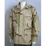 Genuine Surplus US Tricolor Desert Camouflage Assault Shirt Jacket Tri-Colour XL