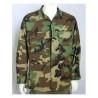 Genuine Surplus Vintage US Army Woodland Camouflage BDU Jacket NoBadges all size