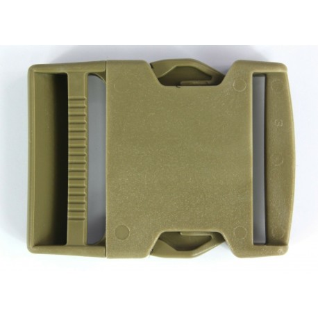 Side Release Buckles Tan Plastic Clips Belts Rucksacks  Replacement All Sizes