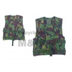 Genuine Surplus British Flak Vest Cover DPM