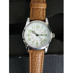 1940's Japanese Army Style Mens Wristwatch Strap Traditional Military Quartz