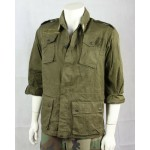 Genuine Surplus Vintage Italian Army Jacket Olive Green Military Reclaimed