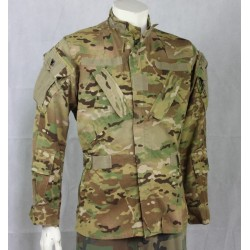 Genuine Surplus USAF MTP Camouflage Lightweight Aircrew Shirt Jacket Small 885