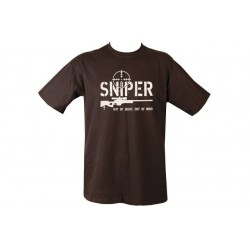 Kombat Sniper T-shirt Black Military Forces Morale Boost Humour