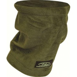 NEW  Fleece Neck Gaiter Scarf  Thermal Warm Olive Green Scarf Fleece