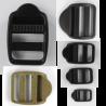 Ladderlock Buckles Black Tan Plastic Tension Rucksacks Replacement All Sizes