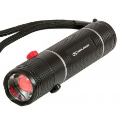 Highlander Hawkeye Night Ops White / Red Light Aluminium Torch 260/20 Lumens