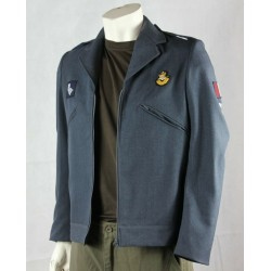 Normandy 44 Reworked Genuine Surplus British RAF Jacket Cropped Badged 34-36""