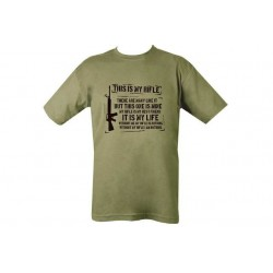 This Is My Rifle T-Shirt Olive