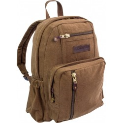 Highlander Salem Canvas Daysack Brown