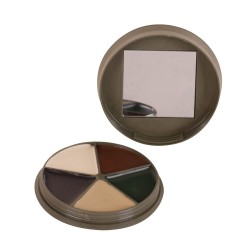 Highlander 5 colour face paint case