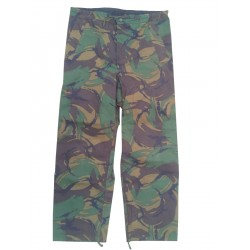 GS British Army 100% Waterproof Over-trousers PVC  DPM Woodland Camo