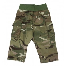 Toddler 100% Cotton Combat Trousers, MTP Compatible, Pull On Style