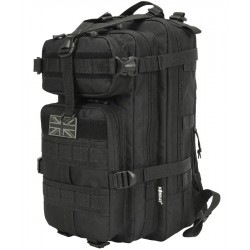 Kombat Tactical Stealth Pack 25litre Daysack Rucksack Backpack Black