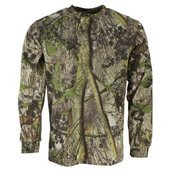 Kombat Hedgerow Long Sleeve T-Shirt Fishing Hunting Shooting Camouflage Leaf