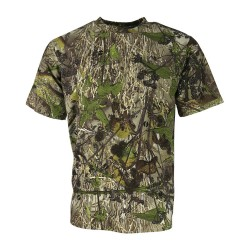 Kombat Hedgerow Short Sleeve T-Shirt Fishing Hunting Shooting Camouflage Leaf