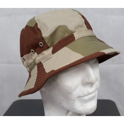 Genuine Surplus French Desert Boonie Sun Hat Wide Brim Polycotton New Camo