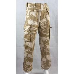 Genuine Surplus British Desert Trousers Old Style Heavyweight Cotton Forces