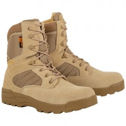 Highlander Echo Boot Adult Military Mens Sand Leather Forces Cadets