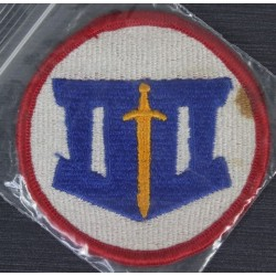 Genuine Surplus US Military Army Division Embroidered Cloth Badge Patch Sew On