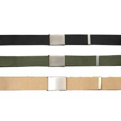40mm Army Clasp Belt Black Olive