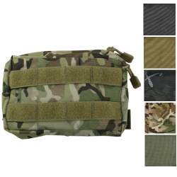 Kombat Small MOLLE Utility Pouch Zipped Modular Olive BTP Black Coyote