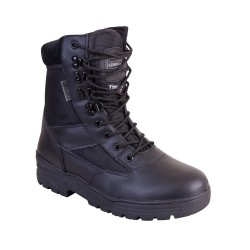 Kombat Brown Patrol Boot Half Leather Half Nylon Upper Rubber Sole MOD Cadets