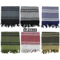 Kombat Shemagh Woven Arabic Style All Colours