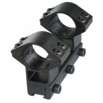 SMK One Piece Double Clamp Mount High (Short)