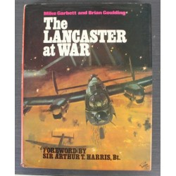 The Lancaster at War Book Hardback Mike Garbett 1977 Aviation History WWII