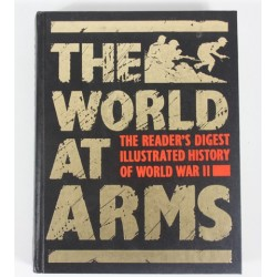 The World At Arms Readers Digest Illustrated History Book Michael Wright 1989