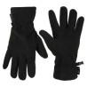 Highlander Polar Fleece Gloves Black Thermal Winter