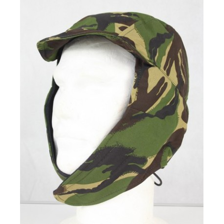 Genuine Surplus NEW British Cold Weather MVP Cap DPM Camouflage Waterproof Large
