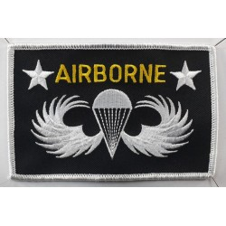 Genuine Surplus US Airborne Regimental Patch Flash Badge Embroidered Military