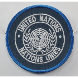 Genuine Surplus United Nations UN Regimental Patch Badge Embroidered Military