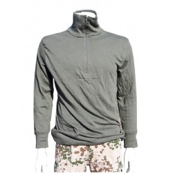 Genuine Surplus German Army Warm Winter Thermal Zip Neck Shirt Top Norgee