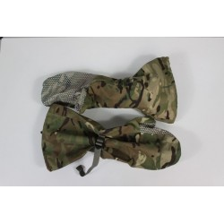 Genuine British Army Gore-tex Arctic Over Mittens Outer Waterproof MTP Camo