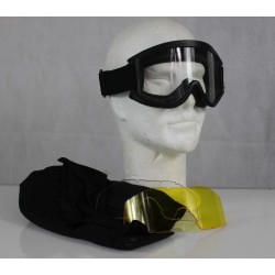 Genuine Surplus Revision Dust Goggles Military Clear Smoke Yellow Lenses 20/201