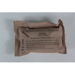 Genuine Army Surplus Bandage in Packaging Collectors Only Non Sterile First Aid