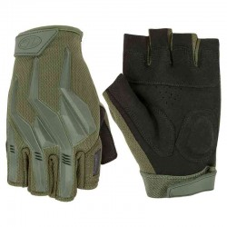Highlander Raptor Fingerless Protective Combat Gloves Military GL088