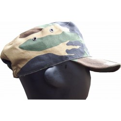 NEW Genuine Surplus Italian ARMY Camouflage Fatigue BDU Cap Forces Military Camo