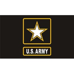 US Army Star  FLAG 5' x 3' US USA Military United States Forces