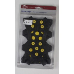 Ex-Display highlander Snow and Ice Grippers For Boots Metal Spikes UK 7-12