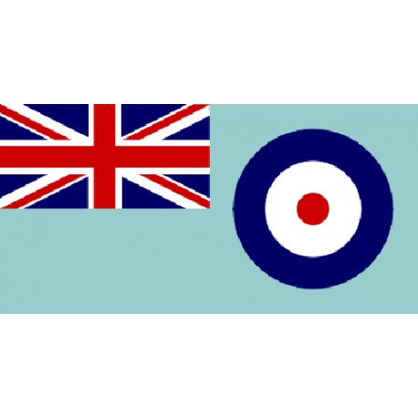 Giant RAF Ensign Printed Polyester Flag 8'x3'