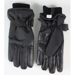 Highlander Mountain Gloves Winter Thermal Waterproof Windproof Black Mens Womens