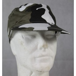 Highlander Black White Urban Camo Cap One Size 100% Cotton Elasticated Adult